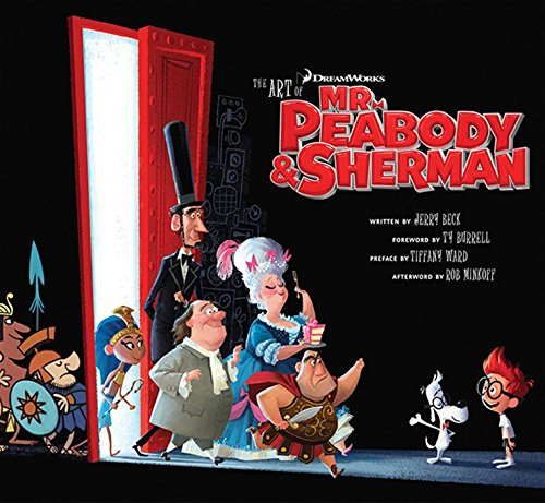 9781608872589: ART OF MR. PEABODY & SHERMAN