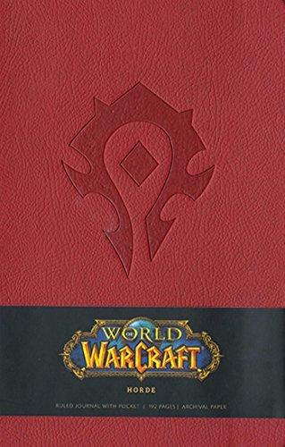 9781608872947: World of Warcraft Horde Hardcover Ruled Journal (Large) (Insights Journals)