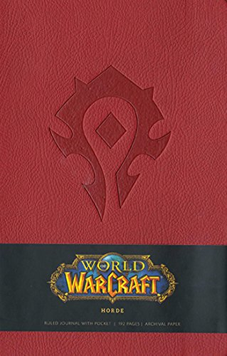 9781608873098: World of Warcraft Horde Hardcover Ruled Journal (Large) (Insights Journals)