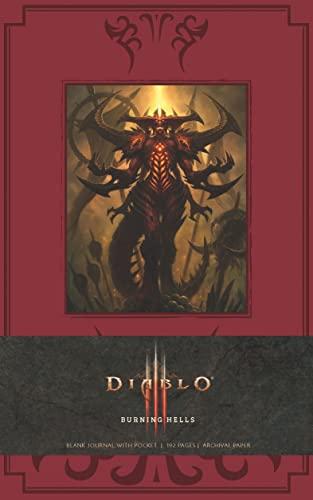 Diablo Burning Hells Journal (Imitation Leather): Blizzard Entertainment