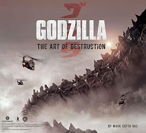 9781608873449: Godzilla: The Art of Destruction