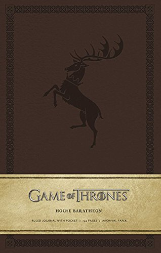 9781608873722: Game of Thrones: House Baratheon Hardcover Ruled Journal (Insights Journals)