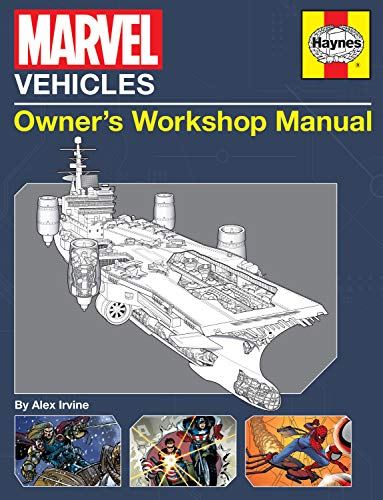 9781608874286: Marvel Vehicles: Owner's Workshop Manual