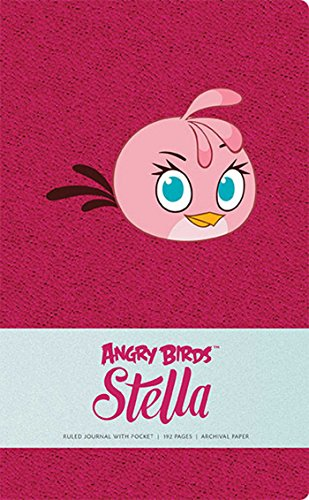 Angry Birds Stella Hardcover Ruled Journal (Large): Insight Editions