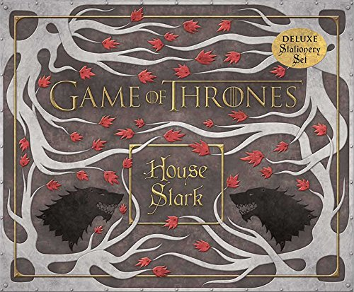 9781608875528: Game of Thrones: House Stark Deluxe Stationery Set (Insights Deluxe Stationery Sets)