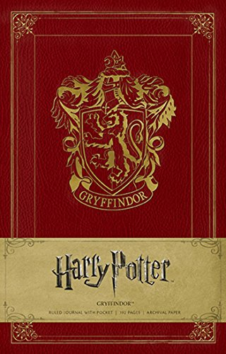 9781608875603: Harry Potter Gryffindor Hardcover Ruled Journal