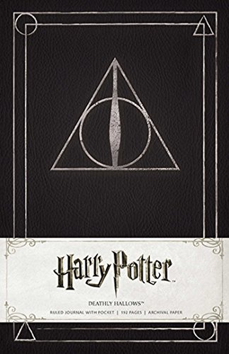 Harry Potter Deathly Hallows Hardcover Ruled Journal