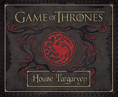 9781608876051: Game of Thrones: House Targaryen Deluxe Stationery Set (Insights Deluxe Stationery Sets)