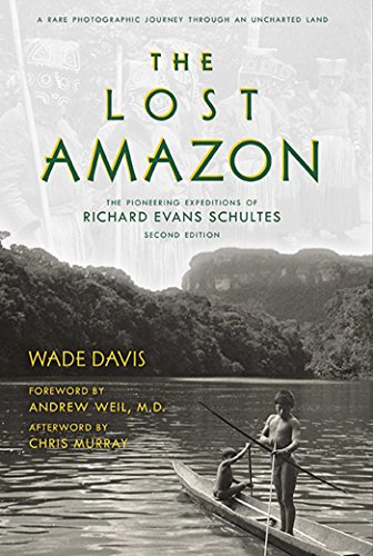 The Lost Amazon 9781608876549 Explore the uncharted Amazon with acclaimed botanist and pioneering Amazonian explorer, Richard Evans Schultes, guided by an intimate narrative that supplements his photography of indigenous tribes, hallucinogenic plants, stunning vistas, and much more.