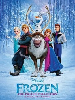 9781608876662: Disney Frozen the Poster Collection