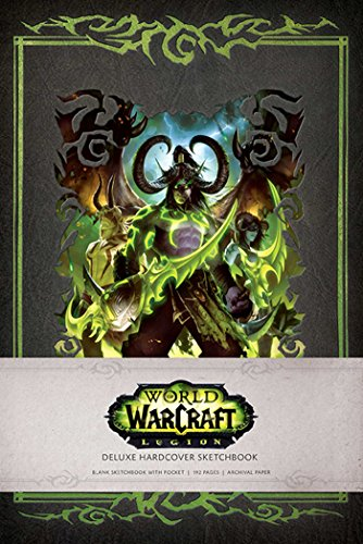 9781608876877: WORLD OF WARCRAFT: LEGION HARDCOVER BLANK SKETCHBOOK (Insights Deluxe Sketchbooks)