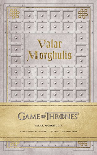 9781608877430: Game of Thrones: Valar Morghulis Hardcover Ruled Journal (Insights Journals)