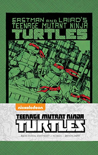 9781608878284: TEENAGE MUTANT NINJA TURTLES: CLASSIC HARDCOVER RULED JOURNAL (Insights Journals)