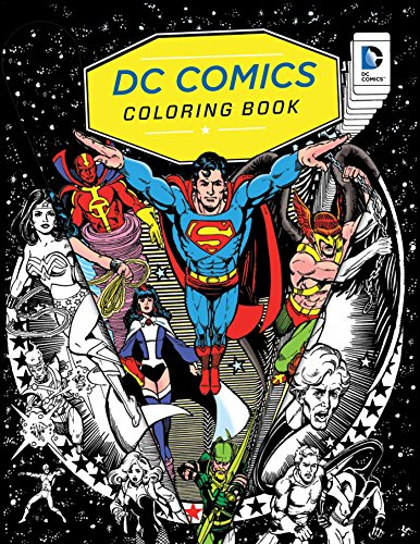 9781608878291: DC Comics Coloring Book