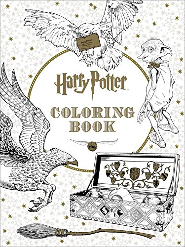 9781608878512: Harry Potter Coloring Book [Paperback] [Feb 29, 2016]