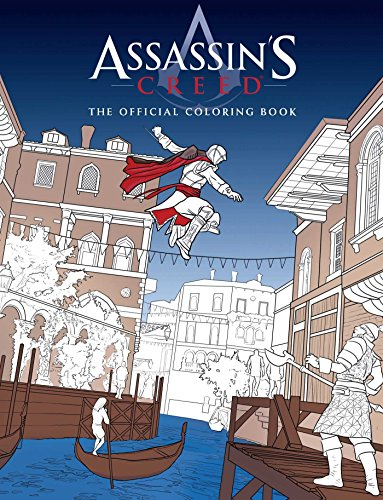 9781608878635: Assassin's Creed: The Official Coloring Book