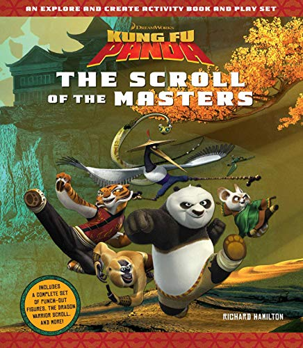 9781608878932: Kung Fu Panda: The Scroll of the Masters: An Explore-and-Create Activity Book and Play Set