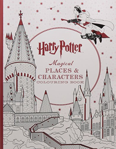 9781608879441: Harry Potter Magical Places &Characters Coloring Book [Paperback] [Apr 01, 2016] Simon & Schuster