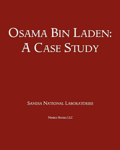 9781608881284: Osama Bin Laden: A Case Study