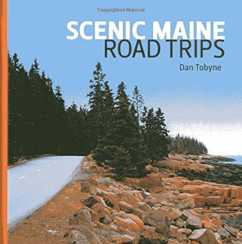 9781608932207: Scenic Maine Road Trips