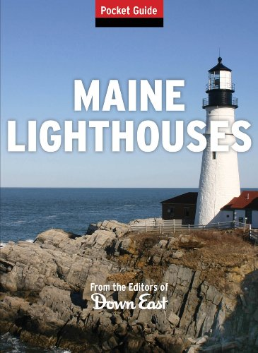 9781608932658: Maine Lighthouses Pocket Guide