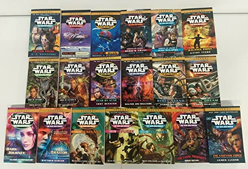 star wars the new jedi order book order