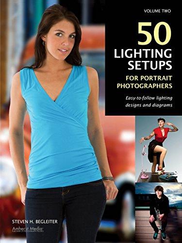 9781608954872: 50 Lighting Setups For Portrait Photographers
