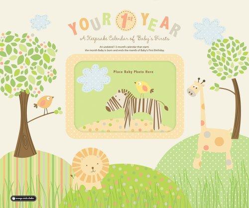 9781608971459: Your 1st Year Calendar: A Keepsake Calendar of Baby's Firsts