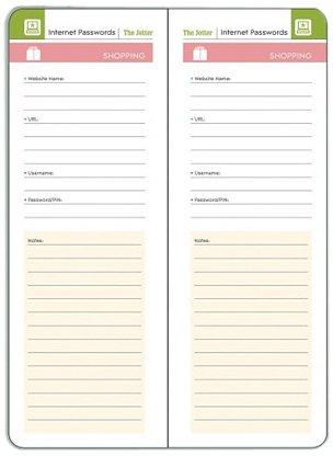 9781608972265: Studio Oh! Jotter Journal, Internet Passwords