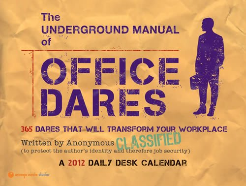 9781608973194: 2012 Underground Manual of Office Dares Daily Desk #11517