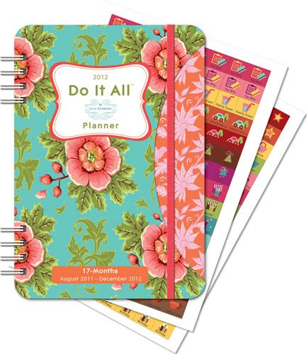 9781608973224: 2012 Do It All Plannerlily Ashbury