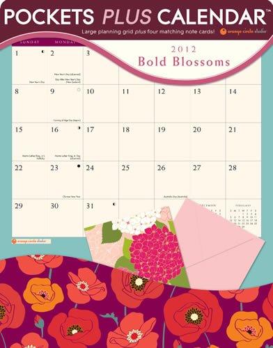 9781608973644: Bold Blossoms 2012 Pocket Plus Calendar #16011