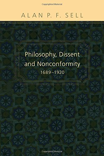 9781608991013: Philosophy, Dissent and Nonconformity, 16891920: