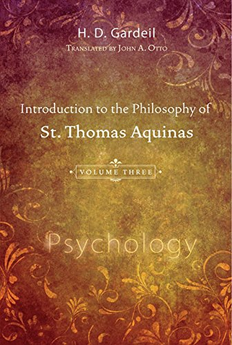 Introduction to the Philosophy of St. Thomas: Gardeil, H. D.