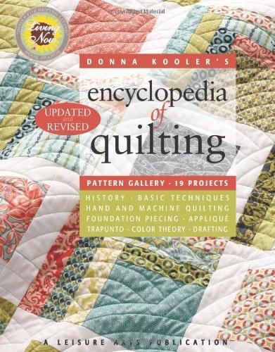 9781609000868: Donna Kooler's Revised Encyclopedia of Quilting (Leisure Arts #15962) (Donna Kooler's Encyclopedia of ...)