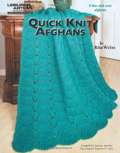 9781609001391: Quick Knit Afghans (Leisure Arts)