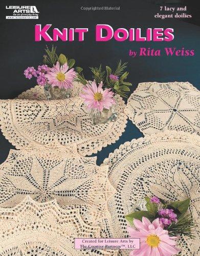 9781609001407: Knit Doilies (Leisure Arts #5516)