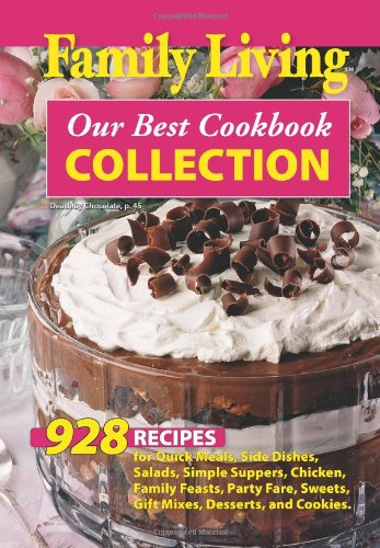 9781609001414: Family Living: Our Best Cookbook Collection (Leisure Arts #75359)