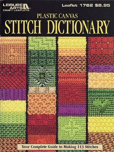 Plastic Canvas Stitch Dictionary Your Complete Guide To