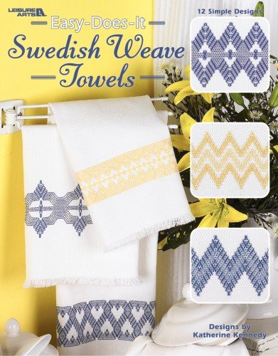 9781609002688: Easy-Does-It Swedish Weave Towels (Leisure Arts #3700)