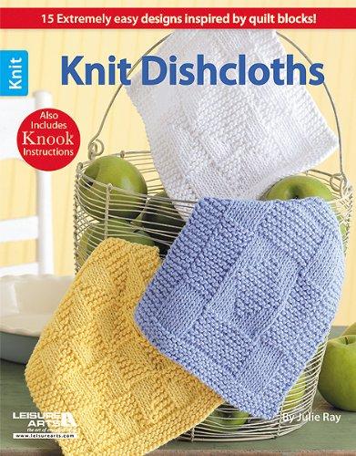 9781609002756: Leisure Arts Knit Dishcloths