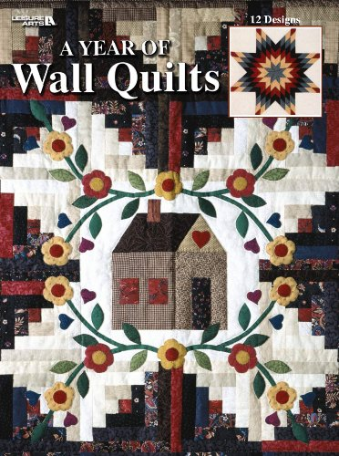9781609008154: A Year of Wall Quilts