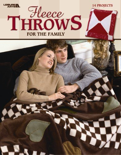 Fleece Throws for the Family (Leisure Arts #3680): Leisure Arts