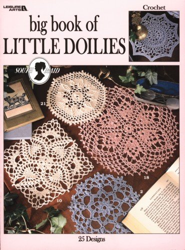 9781609008598: Big Book of Little Doilies (Leisure Arts #2874)
