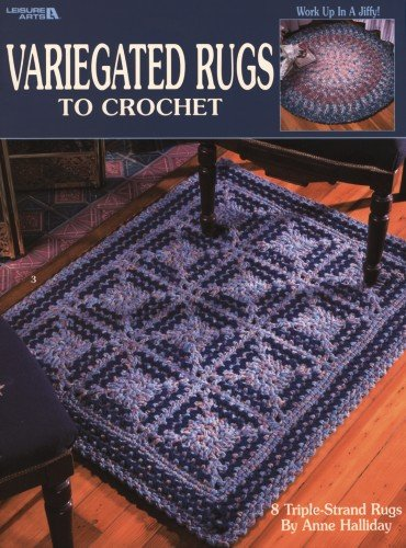 Variegated Rugs To Crochet (Leisure Arts #2992): Christine Graf