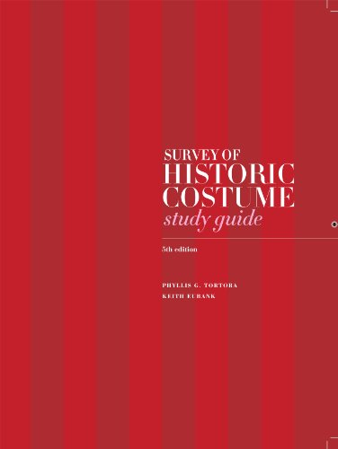 9781609012212: Study Guide for Survey of Historic Costume