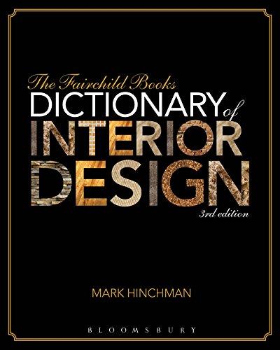 9781609015343: The Fairchild Books Dictionary of Interior Design
