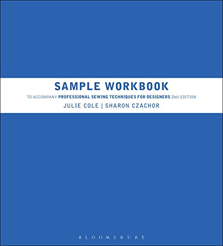 9781609018801: Sample Workbook to Accompany Professional Sewing Techniques for Designers