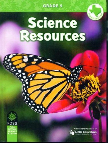 Science Resources Texas Edition Grade 5