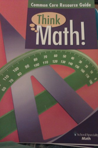 9781609026288: Think Math Common Core Resource Guide (Think Math)